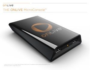 OnLive's Microconsole