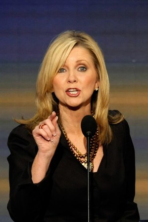 Rep. Marsha Blackburn (R-Tennessee, but mostly AT&T and Comcast)