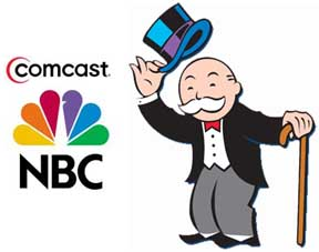 Comcast owns both NBC and the cable companies that carry its local affiliates.