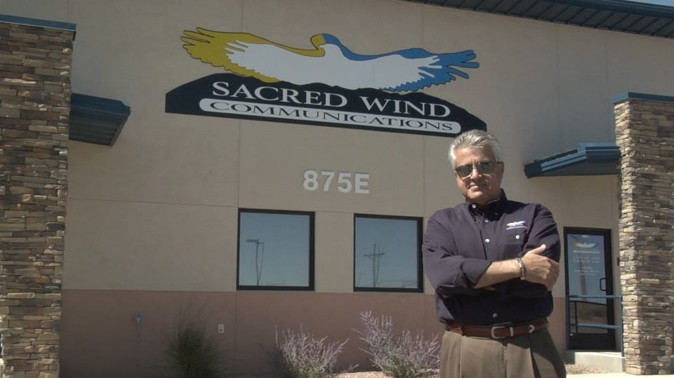 John Badal, CEO of Sacred Wind Communications
