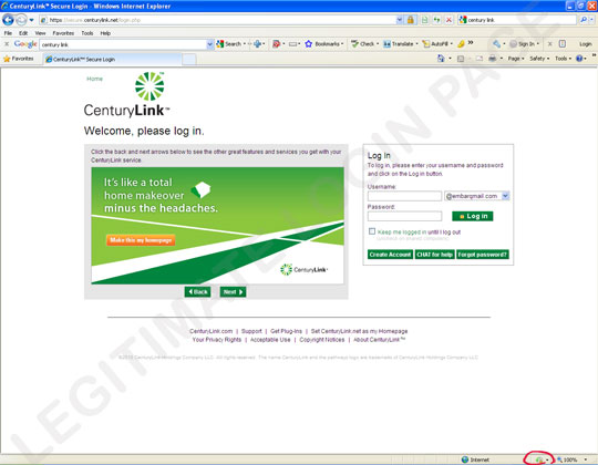 Centurylink Net Login >> Gone Phishing: Hackers Target CenturyLink With Authentic ...