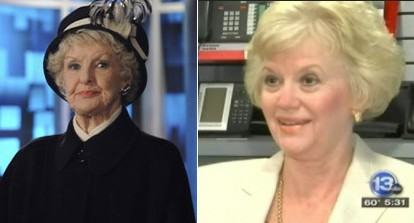 Colleen Donaghy (Elaine Stritch) & Ann Burr, Separated at Birth?