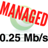 Some ex-Clearwire customers were not happy when their speeds were reduced to 250kbps on the company's overcrowded network.