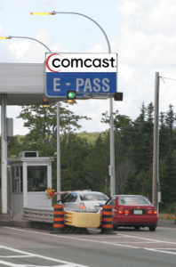 comcast toll plaza