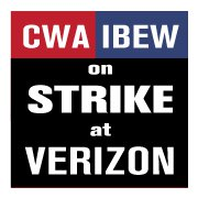 Local verizon workers join regional strike