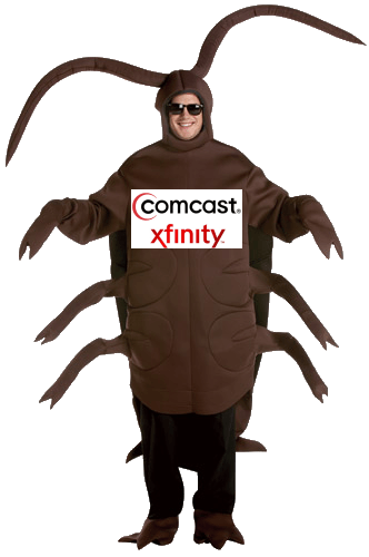 Comcast's Roach Motel: Illinois Family Infested By Bugs