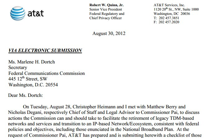 telecom cover letters