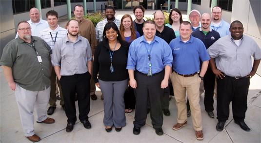 Charter's social media team