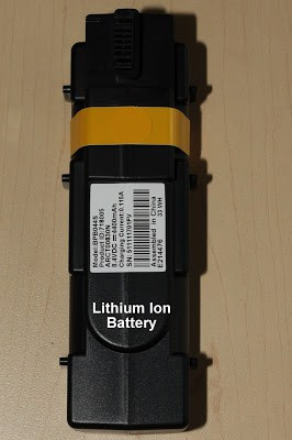 Comcast's eMTA backup battery. (Image: David Trebacz)