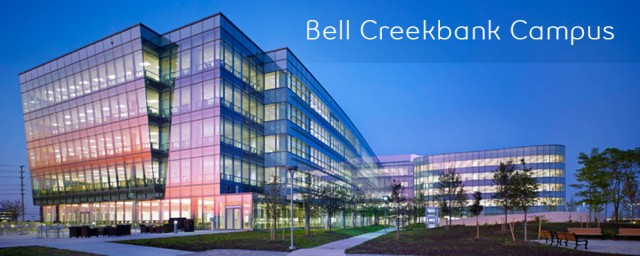 Bell's Creekbank Campus in Ontario.