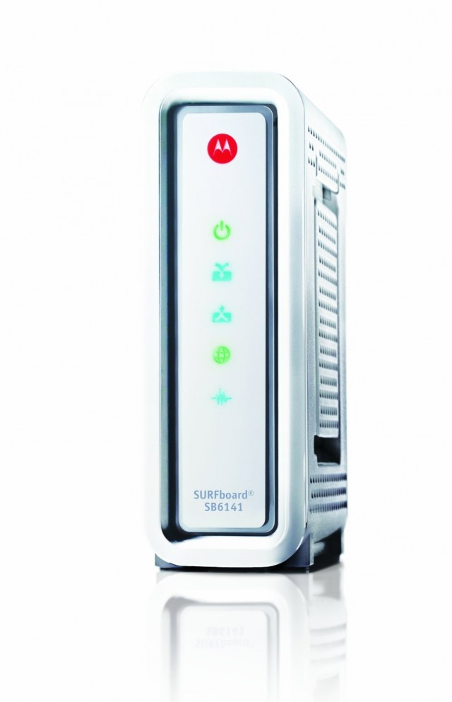 SB6141 is a DOCSIS 3 modem