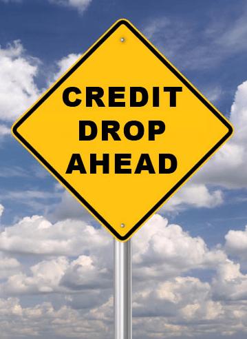 credit drop