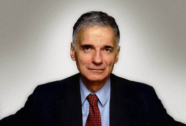 From the Desk of Ralph Nader