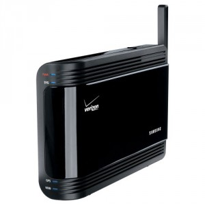 A Samsung femtocell offered by Verizon Wireless.