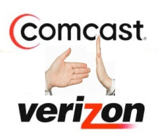 comcast verizon