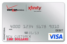 · Missing Switch Rebate Wireless Comcast's Card 100 Gift To Verizon