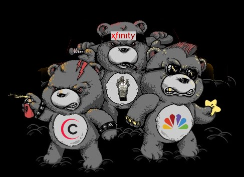 Comcast: The Don't Care Bears