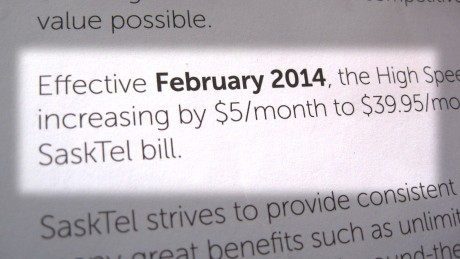 SaskTel is raising prices ... and broadband speeds. (Image: CBC)