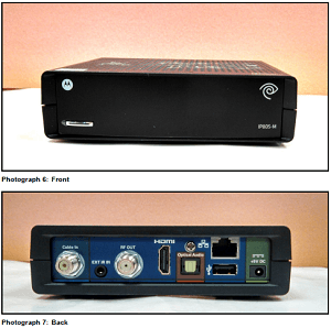 The Arris IP805-M DVR, produced for Time Warner Cable