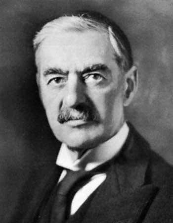 Neville Chamberlain, British Prime Minister, 1937-1940