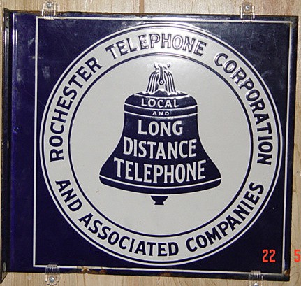 Rochester Telephone Corporation was born in 1921 after a merger between the Rochester Telephonic Exchange, a branch of the Bell Company of Buffalo and locally-owned independent Rochester Telephone Company, which was not allowed to use Bell's long distance network.