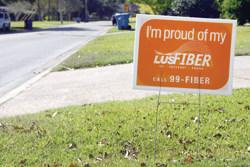 LUS Fiber if Lafayette, La., municipal broadband provider.