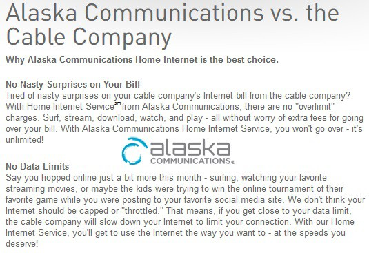 Gci Alaskas Outrageous Internet Overcharger Customers Paying Up
