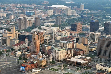 Downtown Syracuse (Image: Post-Standard)
