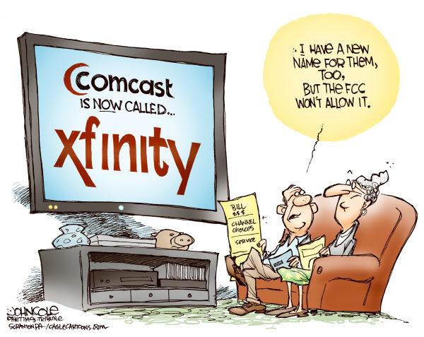 comcast cartoon