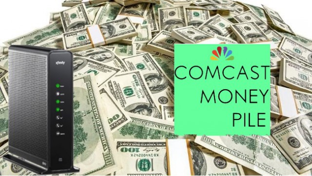 comcast money pile