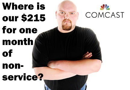 comcast collections