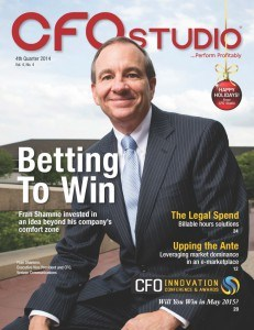Shammo, as featured on a recent cover of CFO Studio magazine.
