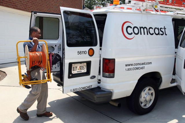 Comcast sends its D.C. repair crew to the Justice Department to salvage its merger with Time Warner Cable.