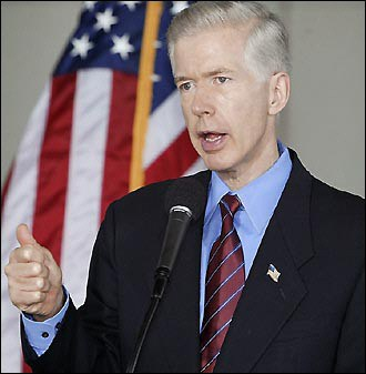 Gov. Gray Davis lost his job in a recall election, partly fueled by the California Energy Crisis.