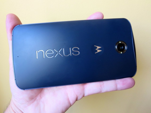 The Nexus 6 is a real handful. It's also the only phone that will currently work on Google Fi.