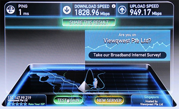 Could a speedtest like this be in your future?