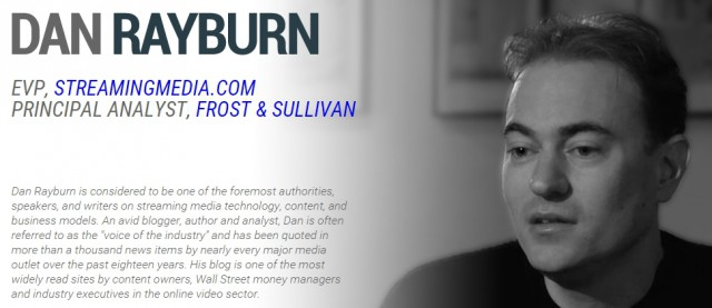 "Rayburn's website refers to him as ""the voice of industry."""