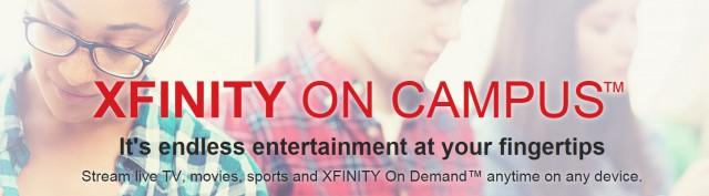 xfinity campus