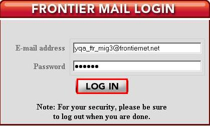 The Plain Text: Forgot Your E-Mail Password? Frontier Will Share It