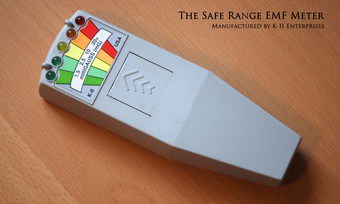 The EMF meter is claimed to be useful for detecting EMF and for ghost hunting.