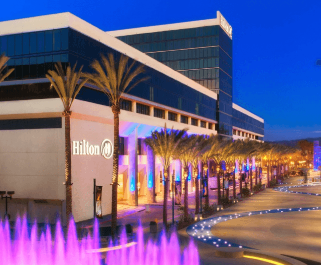 The Hilton Convention Center in Anaheim, Calif. Come for the color but don't stay for the $500 Wi-Fi.