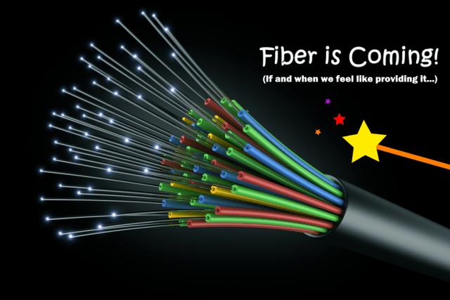 fiber coming