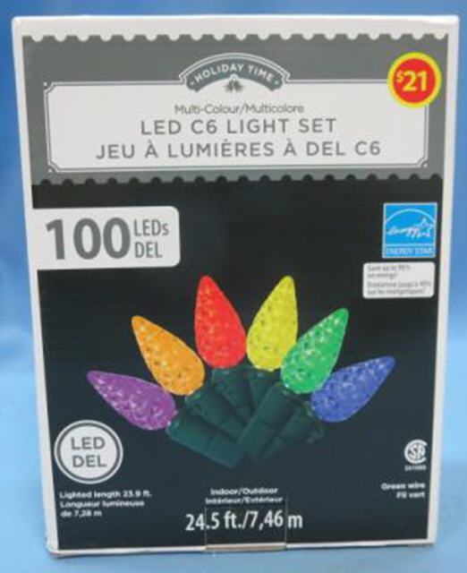 "Despite the UL label, these Walmart-sold Christmas lights have been recalled in Canada for causing ""unfortunate incidents."" In the U.S. consumers are on their own."