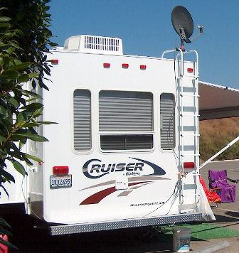 Recreational vehicle owners are among the most loyal to satellite television.