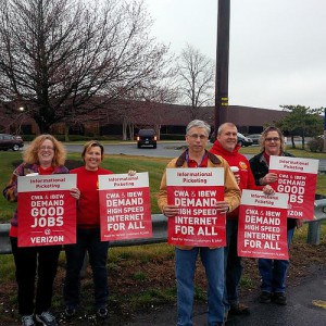 Members of CWA District 1/Local 13500.