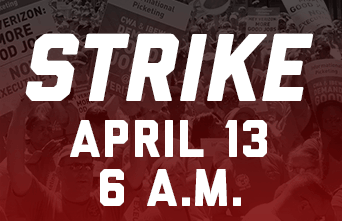 Verizon workers have been on strike since April 13.