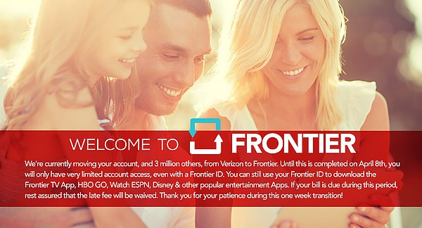 welcome frontier