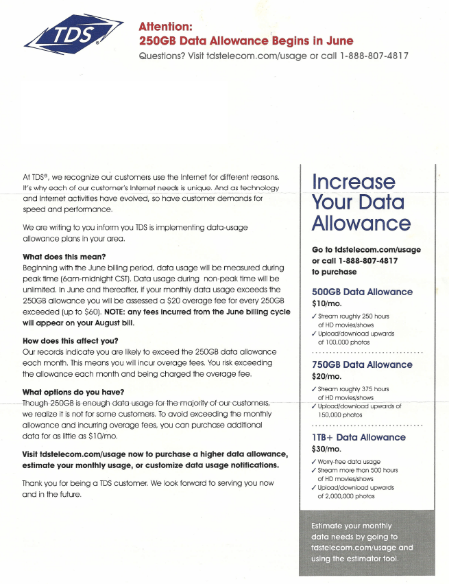 2b25155d36a data usage Archives · Page 6 of 8 · Stop the Cap!