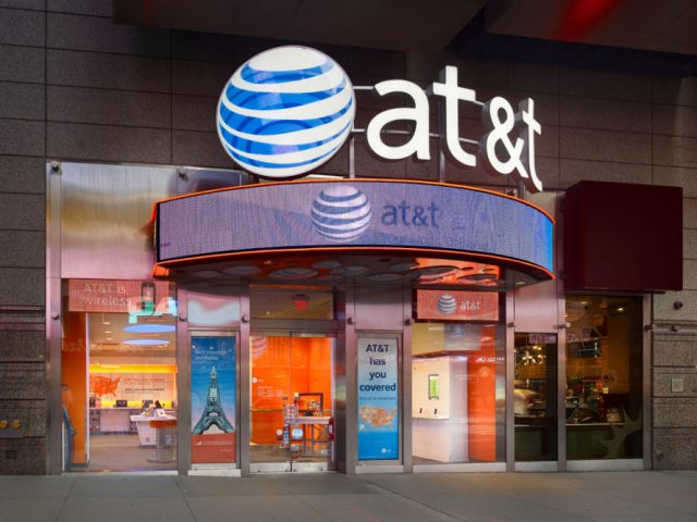 AT&T store in NYC.