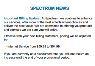 Charter S Quot Spectrum Internet Assist Quot Is Cable Style